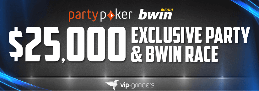 $25,000 PARTY AND BWIN RACE SEPTEMBER