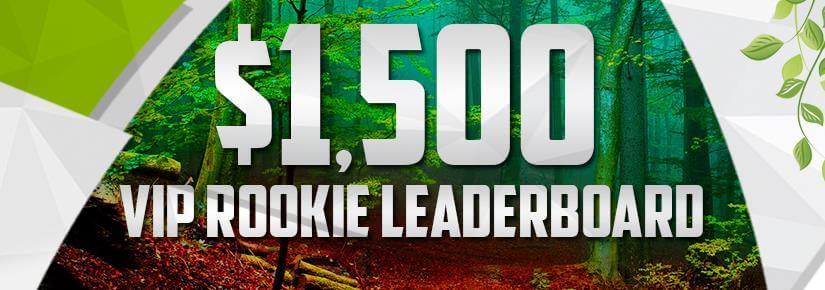 $1,500 VIP Rookie Lestvica