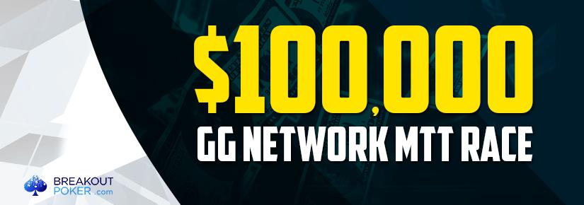 $100,000 GG Network MTT Race